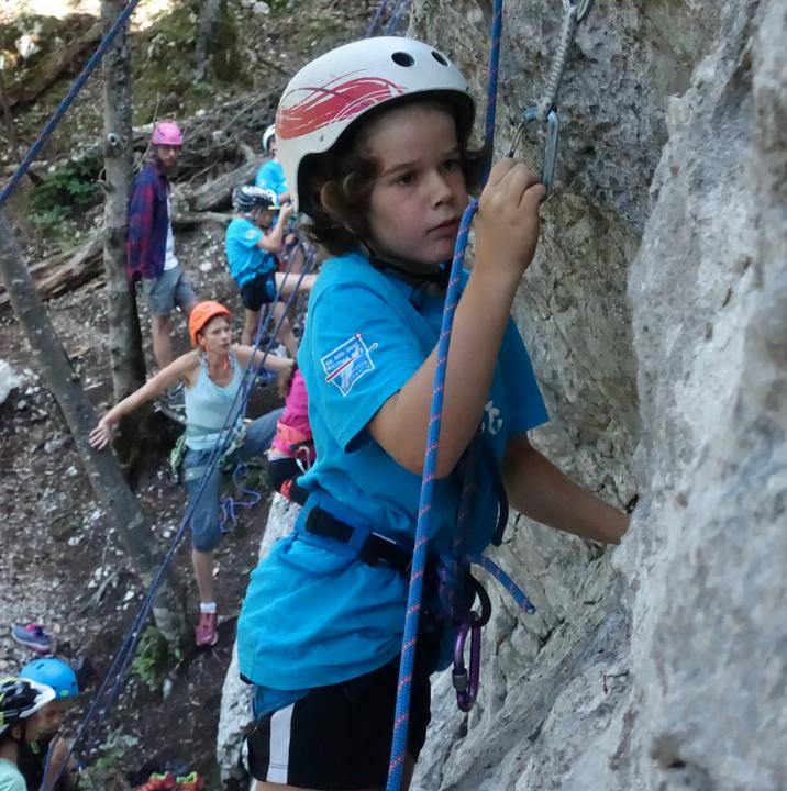 Kids-Sport Kletterwoche August 2020