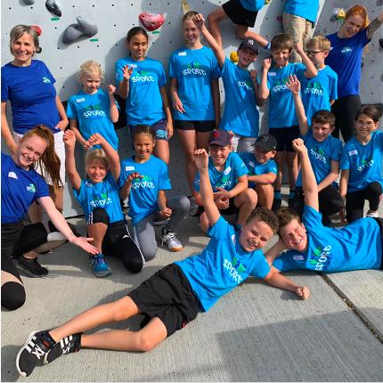 Kids-Sport Woche Klettern GRIP Biel